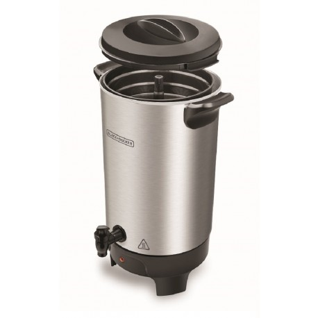 Black & Decker Precoladora 40 tazas Aluminio - Envío Gratuito