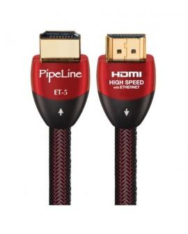 Pipeline Cable HDMI 4K de 2.4 mts ET-5 Negro - Envío Gratuito
