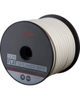 Rocketfish Cable de bocina blanco 50' blanco - Envío Gratuito