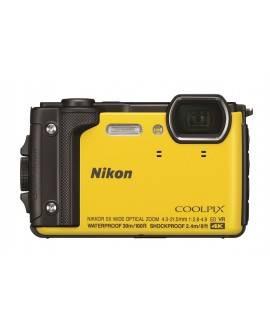 Nikon Cámara acuática Coolplix W300 Amarillo - Envío Gratuito