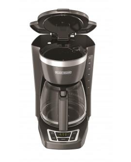 Black & Decker Cafetera programable capacidad de 12 tazas Gris