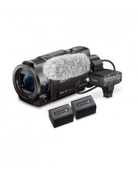 Sony Kit Videocámara AX33 + XLR-K2M  Negro - Envío Gratuito