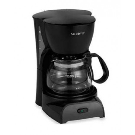 Sunbeam Cafetera Mr Coffee 4 Tazas Negra - Envío Gratuito