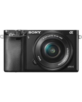 Sony Cámara digital ILCE-6000 Negra - Envío Gratuito