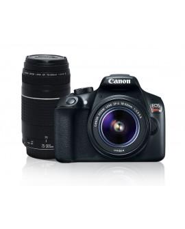 Canon Cámara EOS T6 EF-S 18-55mm DCIII +EF 75-300MM III - Envío Gratuito