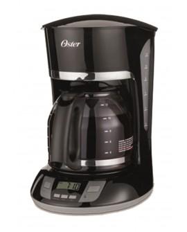 Oster Cafetera programable capacidad de 12 tazas Negro