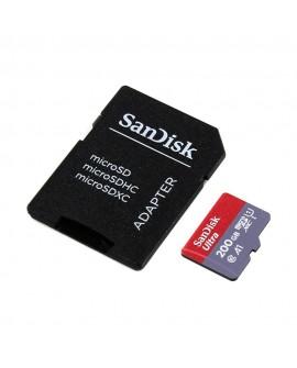 Sandisk Tarjeta Ultra MSD con adaptador A1 200GB Negro - Envío Gratuito