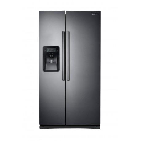 Samsung Refrigerador Dúplex de 25 pies cúbicos Acero inoxidable negro - Envío Gratuito
