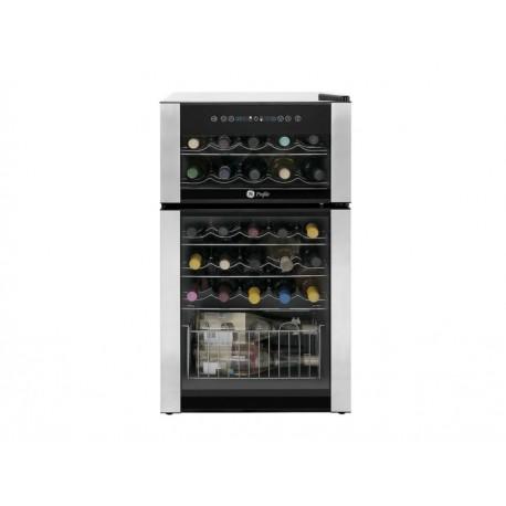 General Electric Cava de vinos para 29 botellas Acero Inoxidable - Envío Gratuito