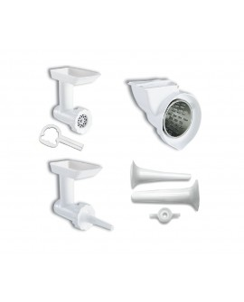Kitchen Aid Kit de 3 accesorios para batidora Blanco