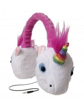 ReTrak Audífonos Animalz Unicornio Blanco - Envío Gratuito