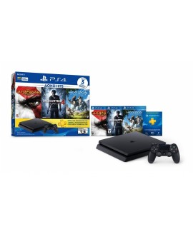 Sony PS4 Consola 500 GB Bundle 2 Hits Negra - Envío Gratuito