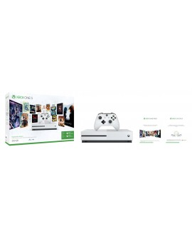 Microsoft XONE S Consola 500GB Game Pass 3M + Live 3M Blanca - Envío Gratuito