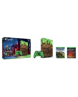 Microsoft XONE S Consola 1TB Minecraft Café/Verde - Envío Gratuito