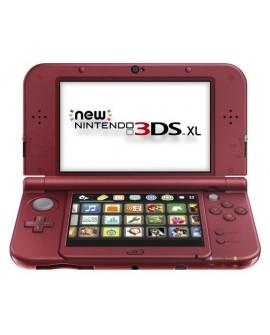 Nintendo 3DS XL Consola 1 GB New Nintendo Black/Rojo - Envío Gratuito