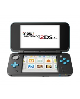 Nintendo 2DS XL Consola New Nintendo Negro/Turquesa - Envío Gratuito