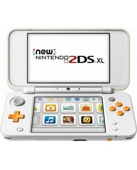 Nintendo 2DS XL Consola Mario Maker Blanco/Naranja - Envío Gratuito
