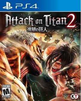 PS4 Attack on titan Peleas/accion - Envío Gratuito