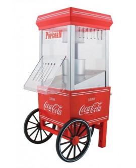 Nostalgia Máquina palomitas Cocacola Roja - Envío Gratuito