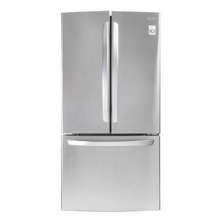 LG Refrigerador de 24 Pies cúbicos con 3 puertas Acero Inoxidable - Envío Gratuito