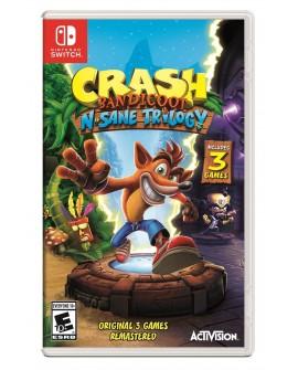 Nintendo Switch Crash Bandicoot N-Sane Trilogy Aventura - Envío Gratuito