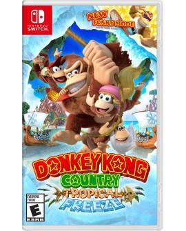 Nintendo Switch Donkey Kong Contry: Tropical Freeze Aventura Para todos - Envío Gratuito
