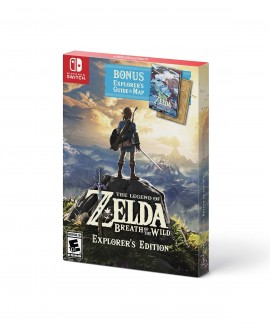 Switch The Legend of Zelda: Breath of the Wild Explorer's Edition - Envío Gratuito