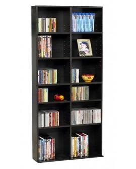 Atlantic Rack media cabinet 464 CD / 228 DVD Espresso Café - Envío Gratuito
