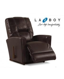 LA-Z-BOY Reclinable Mecedora Casey Piel Café