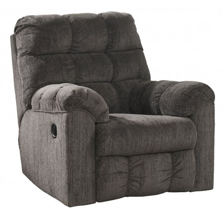 Ashley Furniture Acieona Reclinable Individual Gris - Envío Gratuito
