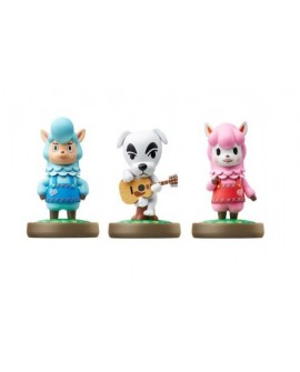 Nintendo Amiibo Animal Crossing 3 Series Pack - Envío Gratuito