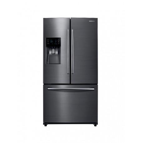 Samsung - Refrigerador de 26 pies cúbicos y 3 puertas - Negro - Envío Gratuito
