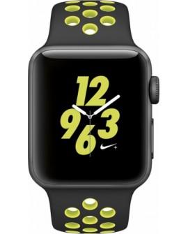 Apple Apple Watch Nike + 38mm Aluminio Banda Negra/Volt - Envío Gratuito