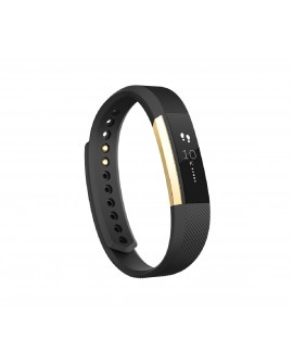 Fitbit Reloj deportivo Alta Chico Negro / Dorado - Envío Gratuito