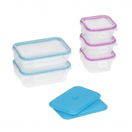 Snapware Set de tupers Total Solution On the Go 12 piezas Varios colores - Envío Gratuito