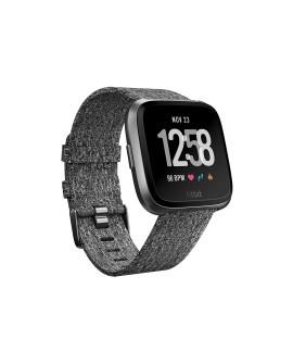 Fitbit Smartwatch Versa Special Edition Carbón Negro - Envío Gratuito