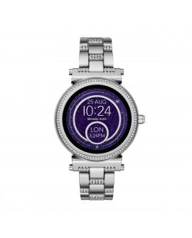 Michael Kors Smartwatch Sofie Plata con cristales - Envío Gratuito