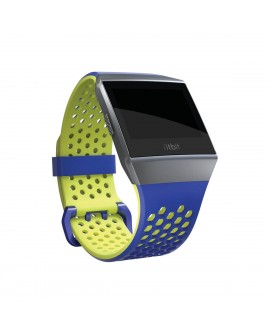 Fitbit Correa deportiva IONIC Azul/Verde Grande - Envío Gratuito