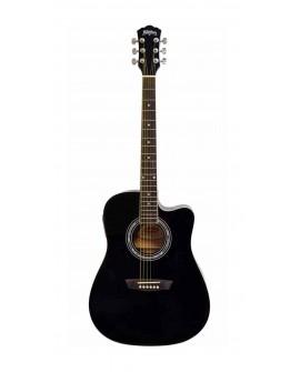 Washburn Guitarra electroacústica WA90CEPAK Negro - Envío Gratuito