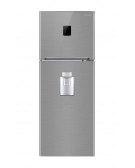 Daewoo Refrigerador de 14 Pies cúbicos Glam Silver