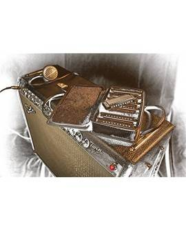Fender Armónica Blues Deluxe Plata - Envío Gratuito