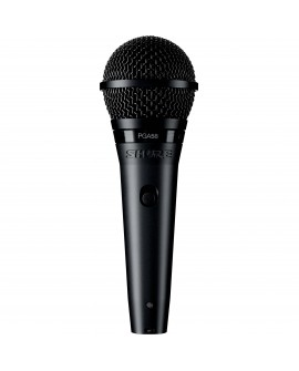 Shure Micrófono Cardioide dinámico para voces PGA58-XLR Negro - Envío Gratuito