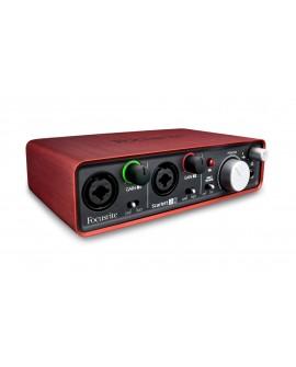 Focusrite Interfaz USB SCARLETT 2I2 000 Rojo - Envío Gratuito