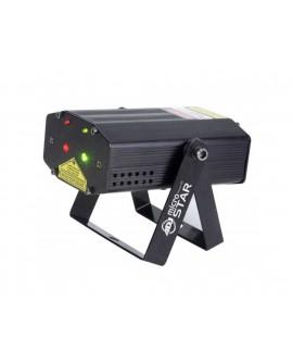 ADJ Lámpara Micro Star Negro - Envío Gratuito