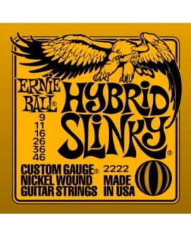 Ernie Ball Cuerda para guitarra eléctrica Hybrid Slinky Naranja - Envío Gratuito