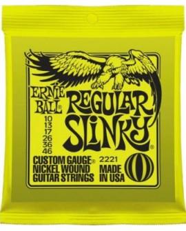 Ernie Ball Cuerda para guitarra eléctrica Regular Slinky Verde - Envío Gratuito