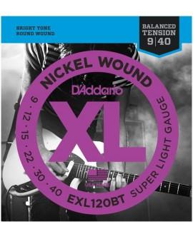 D´Addario Cuerda para Guitarra EXL-120BT - Envío Gratuito