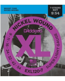D´Addario Cuerda para Guitarra EXL-110 - Envío Gratuito