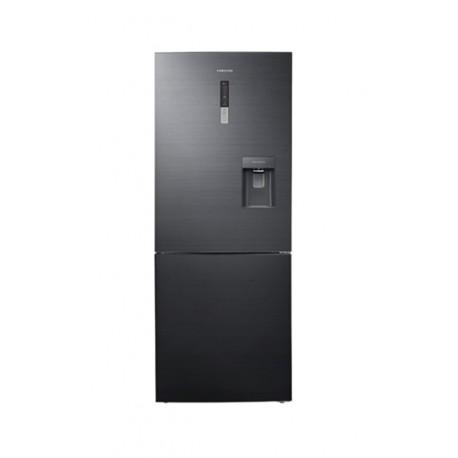Samsung Refrigerador de 16 pies cúbicos con congelador inferior Negro - Envío Gratuito