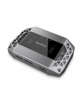 Infinity Ampolificador de 4 canales con bluetooth Kappa K4 Plata - Envío Gratuito